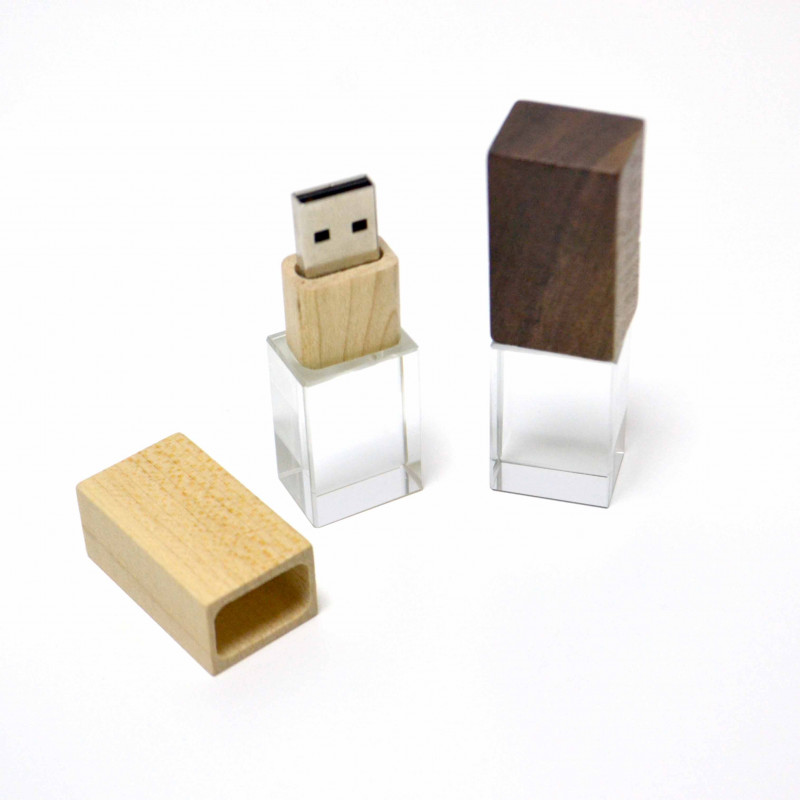 Woody-Crystal USB